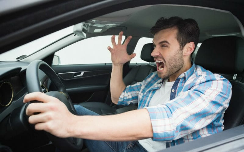 Keeping Your Cool Around Unpredictable Drivers